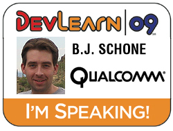 DevLearn 2009 Badge